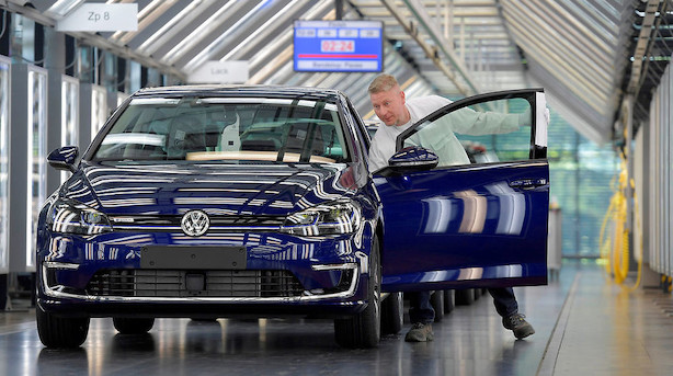Volkswagen accepterer bøde på 1 mia euro for dieselsag