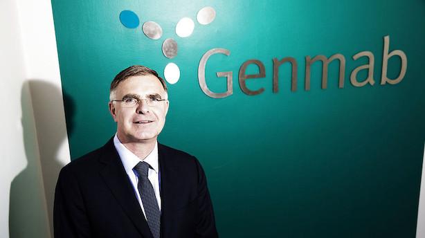 Genmab-ansatte udnytter optioner og scorer stor gevinst