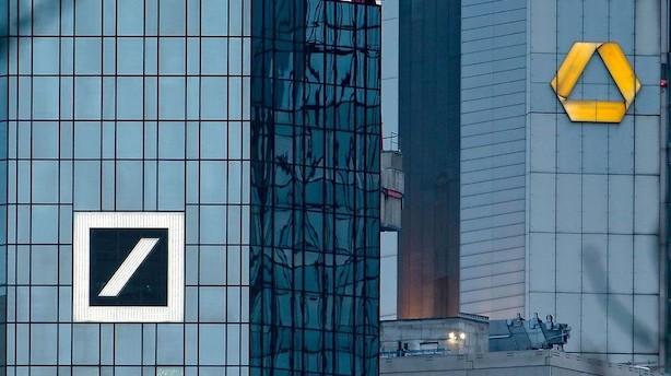 Tysk bankfusion kan sende 30.000 jobs i farezonen