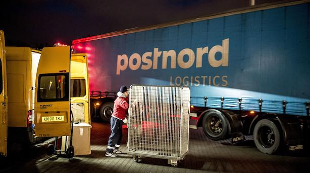 Kriseramt Postnord i bedring – men den danske forretning trækker stadig ned