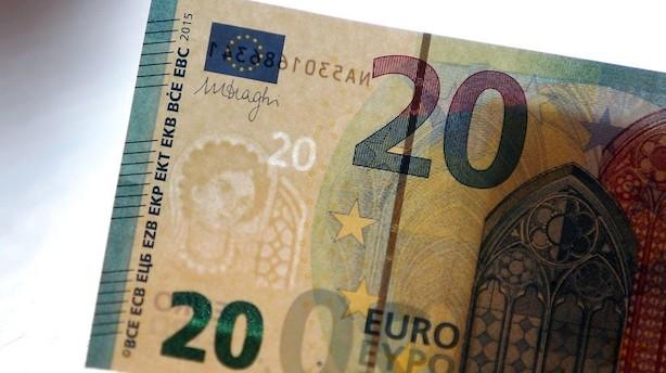 Valuta: Euro og yen styrkes på baggrund af handels-effekter