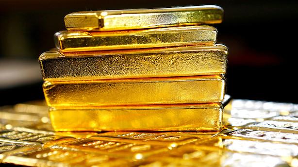 Dollar styrkes og guldprisen falder efter positiv jobrapport