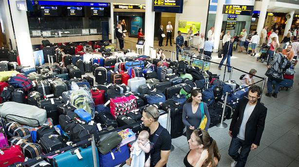 SAS-bagagefolk strejker igen: På vej i Arbejdsretten