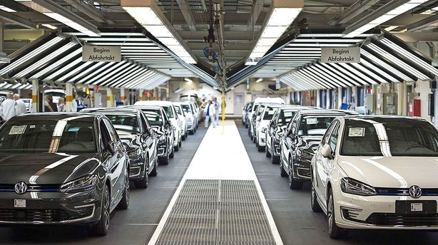 Tysk industri tager dyk efter VW og Kina