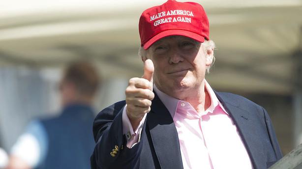 Måling afdækker Trump som historisk upopulær i befolkningen