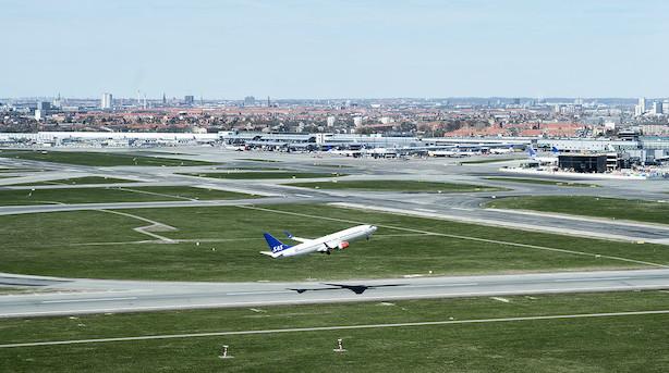Københavns Lufthavne oplevede passagerfald i december
