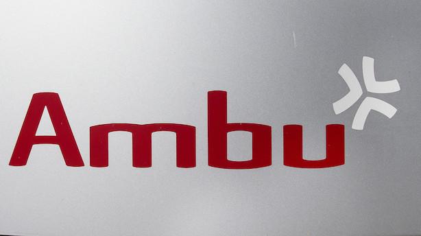 Ambu sluttede helt i top i rødt C25 i dag