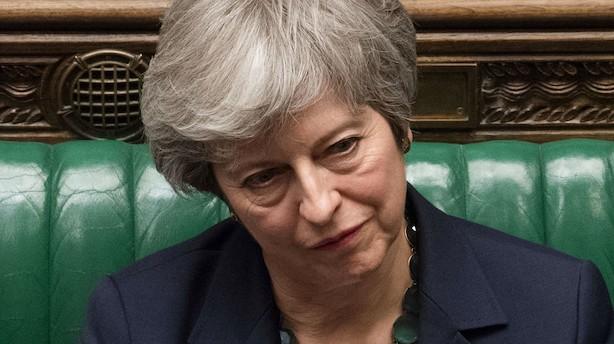 Lang udskydelse? Kort udskydelse? Ny folkeafstemning? Her står brexit efter Mays nederlag