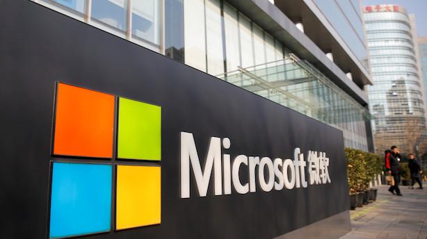 Aktierne i USA steg 3 pct i ugens løb trukket af it og chipaktier - Microsoft i rekord