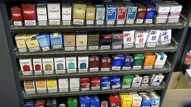 Danske Regioner vil hæve prisen på cigaretter til 80 kroner
