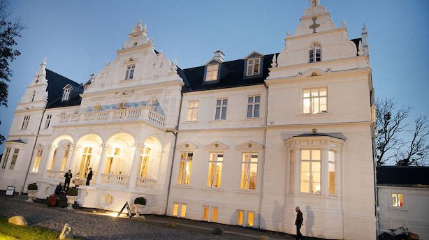 Goldschmidt sætter Kokkedal Slot sat til salg for 150 millioner