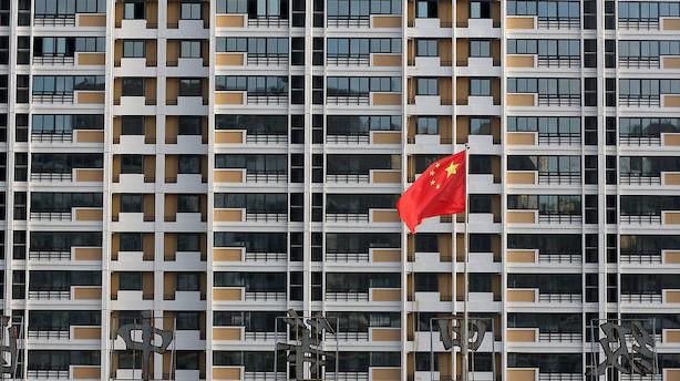 Kinas økonomiske vækst når laveste niveau i knap 30 år