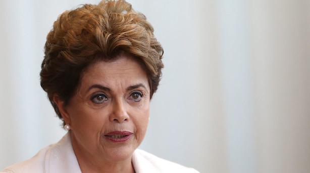 Brasiliens Rousseff erklærer sig uskyldig før rigsretssag