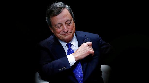 ECB fastholder renteniveau og opkøbsprogram
