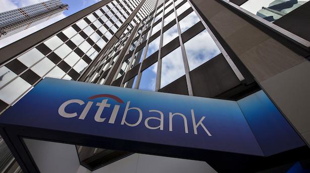 Aktieåbning i USA: Storbanker falder trods større end ventet indtjening