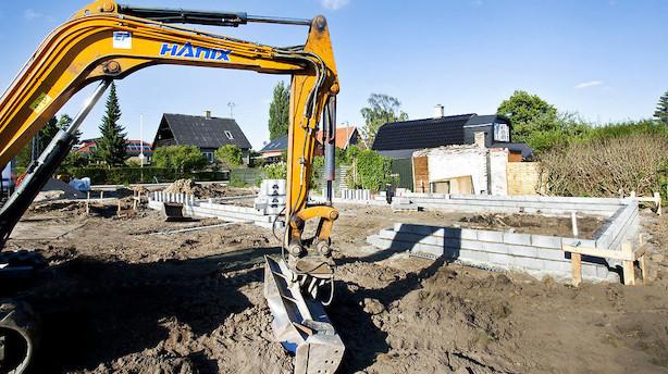 Byggebranchens beskæftigelse boomer: Højeste niveau i 11 år