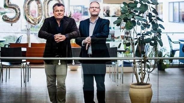 Rigmænds robot-fabrik fordobler sit salg: Peter Warnøe venter Blue Ocean Robotics skal sælges for et mia-beløb