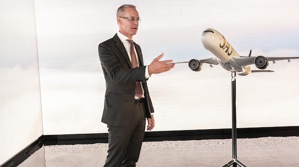 SAS-topchef: Se vores nye flyfarver