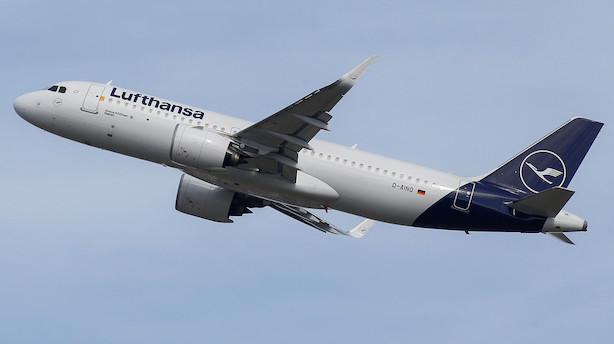 Det sker i dag: Trafiktal fra Lufthansa