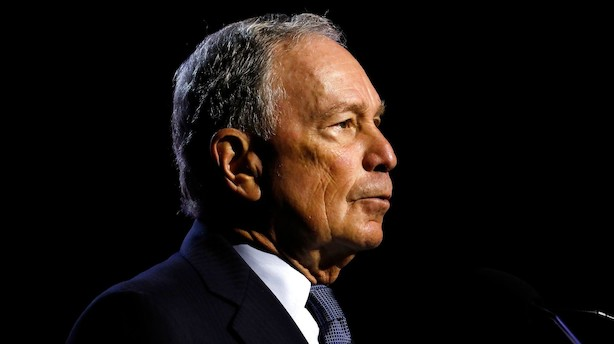 Bloomberg baner vejen for at stille op i præsidentvalgkamp