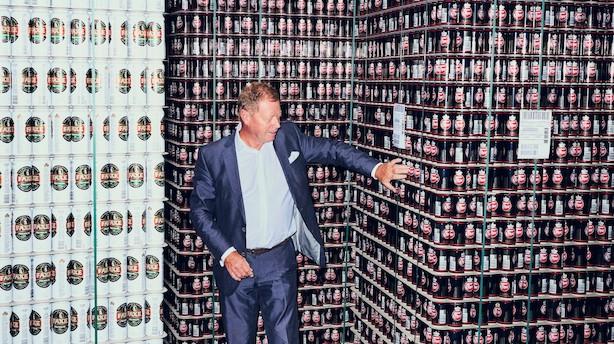 """Royal Unibrew-boss: """"Folk drikker mindre øl, men til gengæld drikker de øl af højere kvalitet"""""""