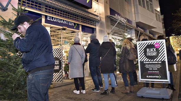 Netbutikker forventer at slå Black Friday-rekord: Mobilepay-betalinger er vokset med 81 pct i nat