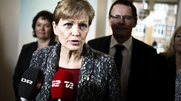 Eva Kjer Hansen lukker i om kritiseret landbrugspakke