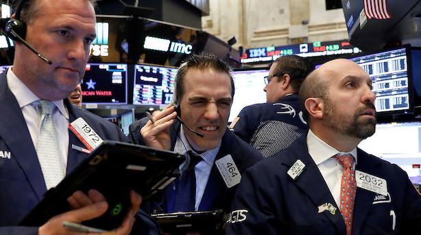 Aktier USA: GE stiger pænt efter regnskab i negative markeder