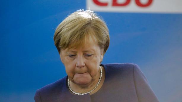 Angela Merkel genopstiller ikke ved næste valg i Tyskland