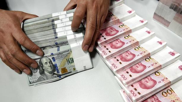 USA kræver stabil yuan i handelsforhandlingerne med Kina