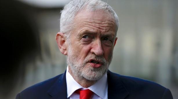 Corbyn vil forhandle alternativ aftale på plads med EU
