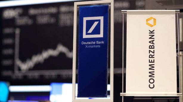 Tysk bankfusion kan koste Deutsche Bank milliarder i indtægter