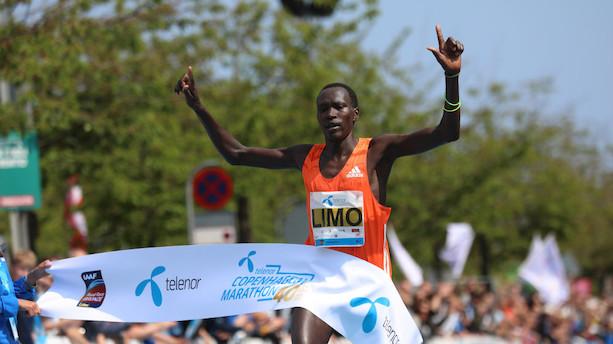 Kenyaner sætter maratonrekord i København