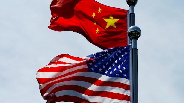 Aktieluk i USA: Løftet af handelshåb - plusser til Apple og chips