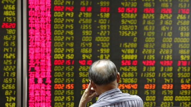 Aktier: Kinas aktier stiger svagt trods lave vækstmål