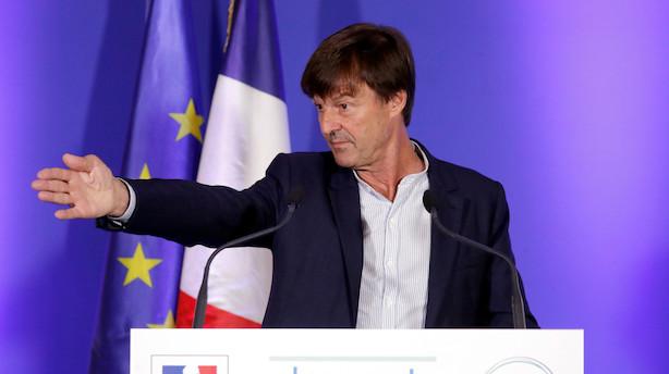 Frankrig vil stoppe salget af benzinbiler i 2040