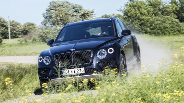 Test: Bentleys første dieselbil er fantastisk