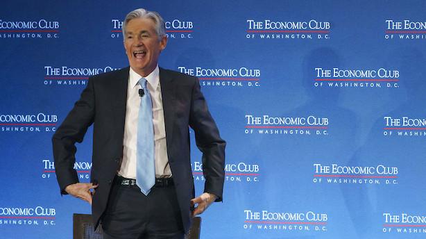 USA: Centralbankchef lover tålmodig rentepolitik