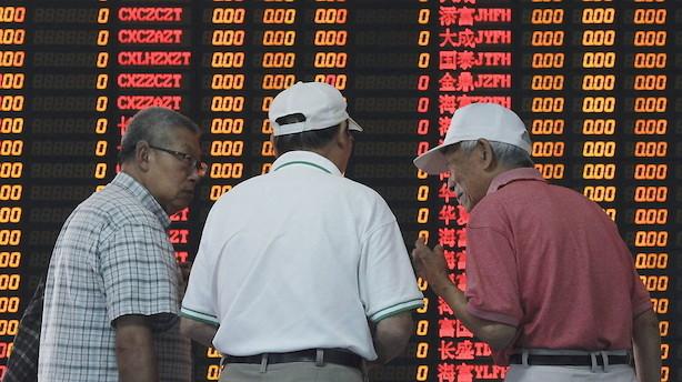 Aktier: Blandet stemning i Asien forud for rentemøde i USA