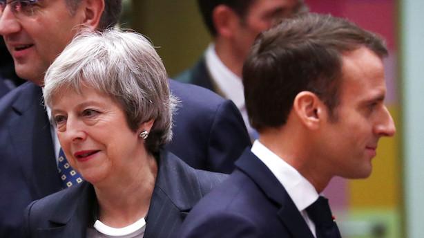 """Theresa May vil overbevise EU om at udskyde brexit: """"Denne forsinkelse er en personlig fortrydelse for mig"""""""