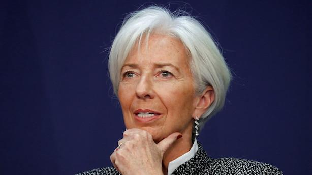 Det sker i dag: IMF-chef belyser den globale økonomi