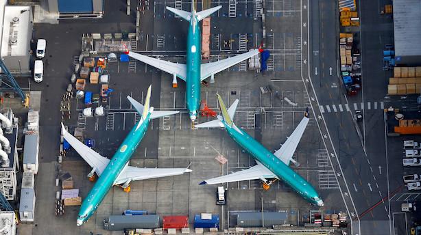 Boeing suspenderer 2019-forventninger efter flyulykker