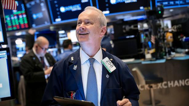 Aktieluk i USA: Rentehåb løftede aktierne - Microsoft igen over 1000 mia dollar