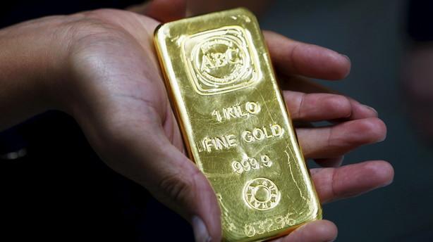 """Guldpriserne stiger efter Fed-melding om renteudsigter: """"Guldet kan stige med op mod 100 dollar"""""""