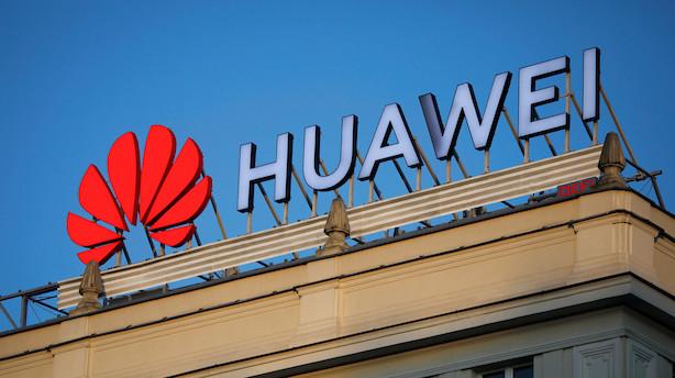 USA vil tillade godkendte amerikanske selskaber at sælge til Huawei