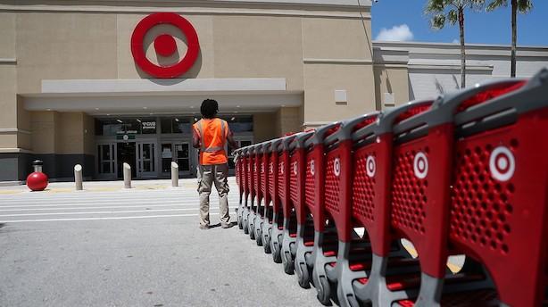 Target-shortsælgere bløder efter aktiehop på 20 pct.