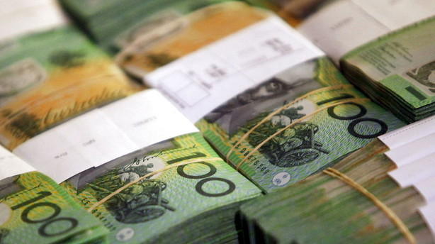 Valuta: Aussie dollar kan have n�et vendepunktet