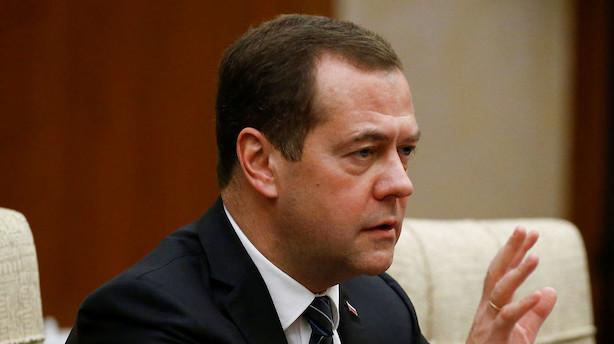 Rusland: EU vil tvinge os til at opgive gasledning