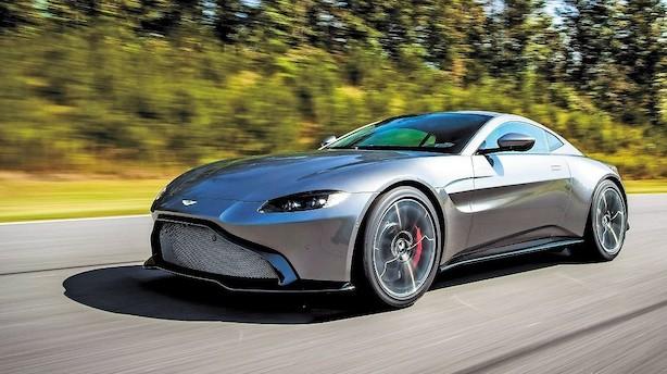 Aston Martin garanterer for et dybt V8-brøl i Vantage