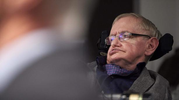Matematikgeniet Stephen Hawking er død 76 år gammel